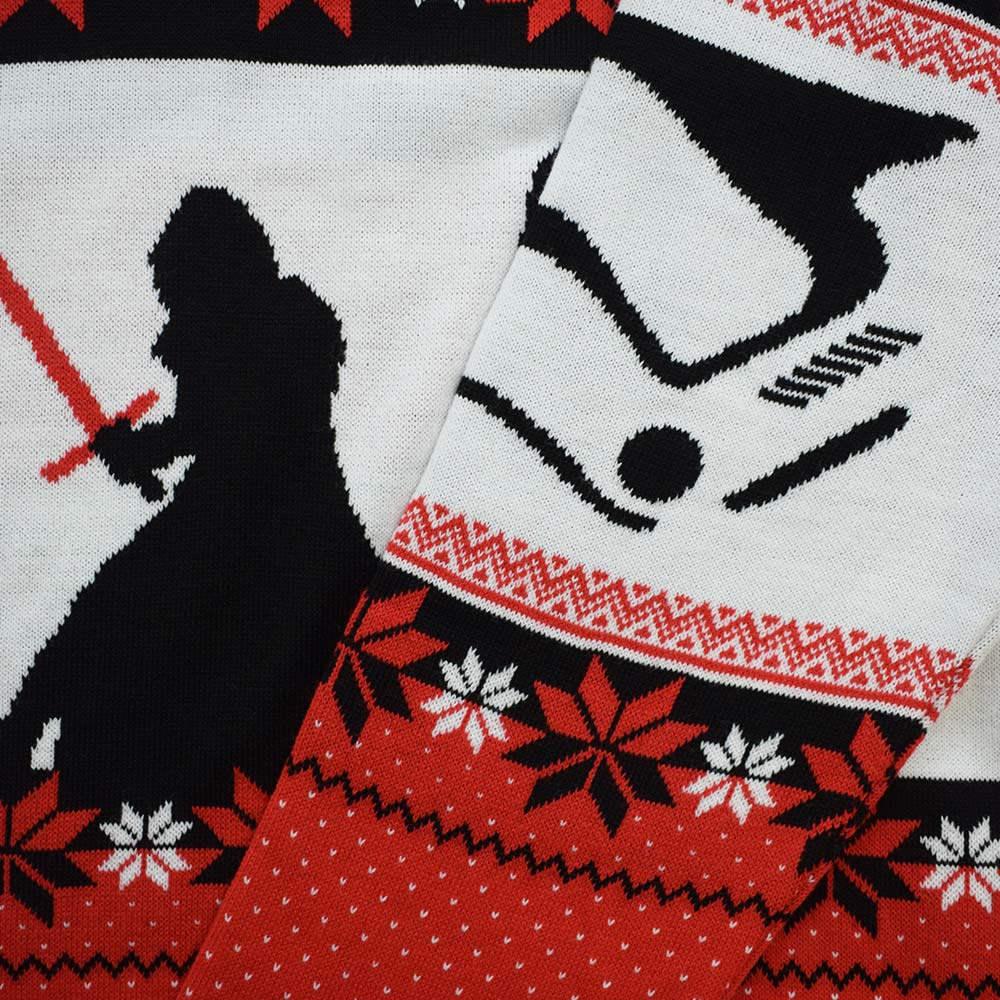 Official Star Wars Kylo Ren Christmas Jumper / Ugly Sweater