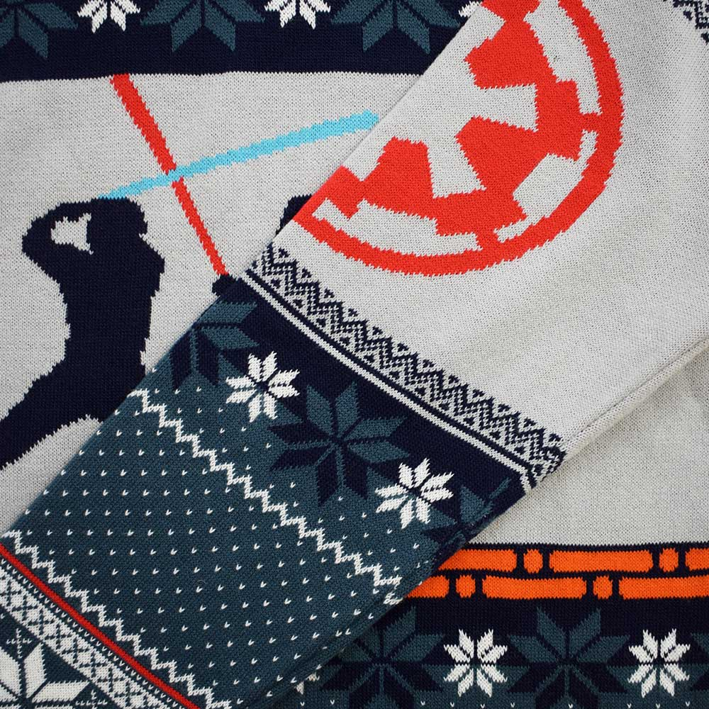 Official Star Wars Luke Vs Darth Christmas Jumper / Ugly Sweater