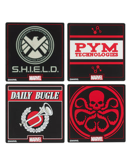 Official Marvel Coasters Set (4 Pack)