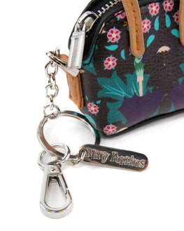 Official Disney Mary Poppins Mini Coin Purse Keyring / Keychain