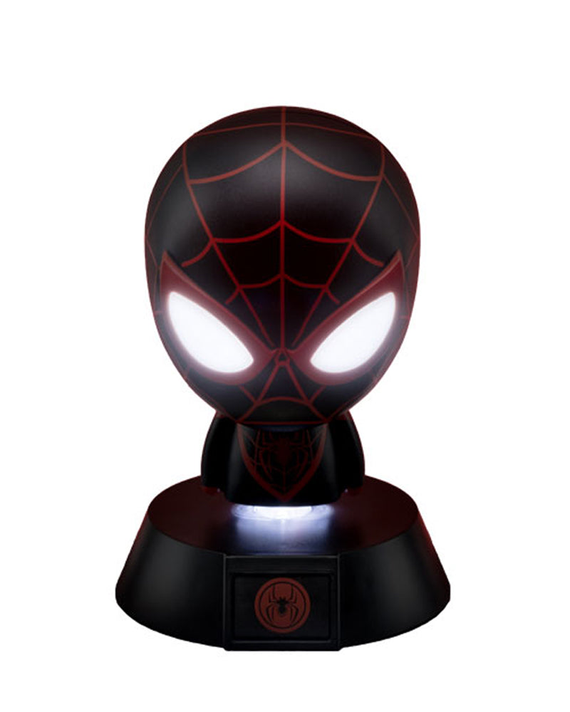 Official Marvel Spider-Man Miles Morales Character Icon Light BDP