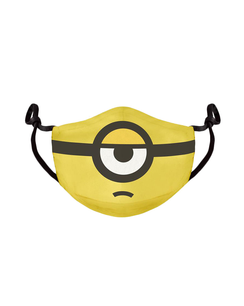 Official Minions 1-Eye Face Mask / Face Covering