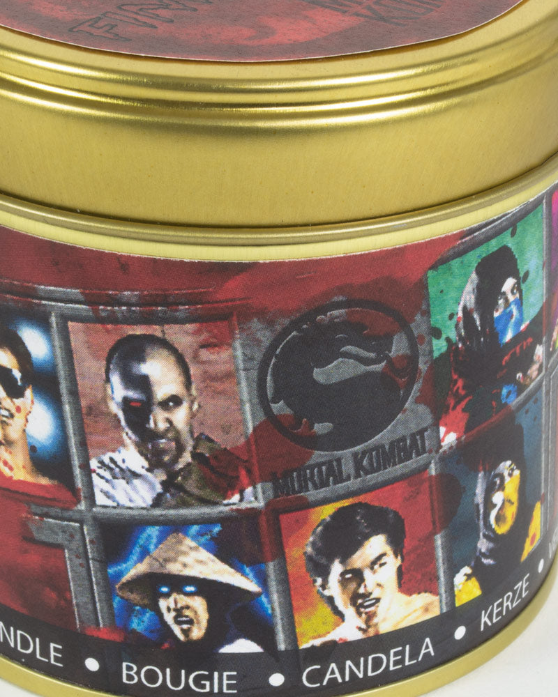 Official Mortal Kombat Character Selection Candle