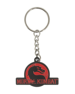 Official Mortal Kombat Logo Keyring