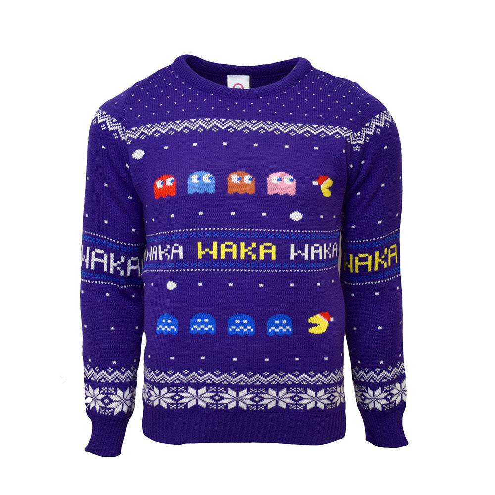 Official Pac-Man Christmas Jumper / Ugly Sweater