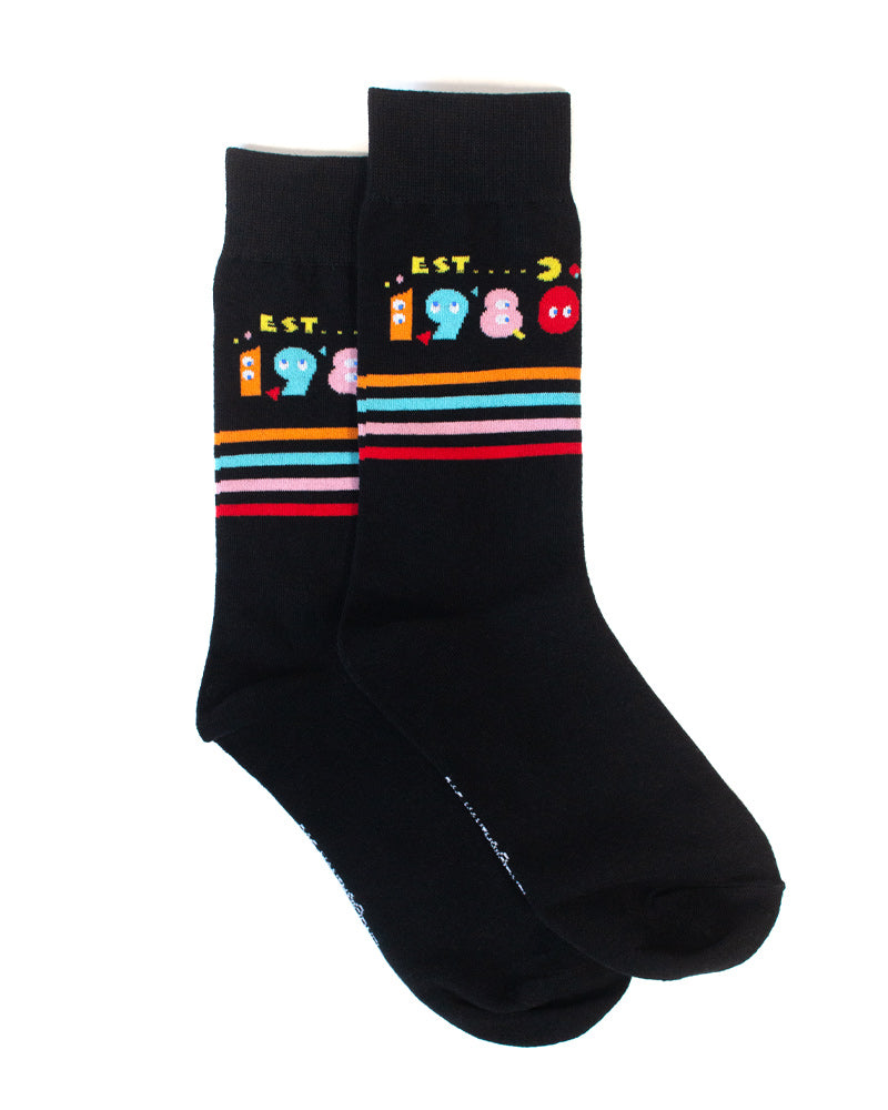 Official Pac-Man 40th Anniversary Socks - 3 Pack