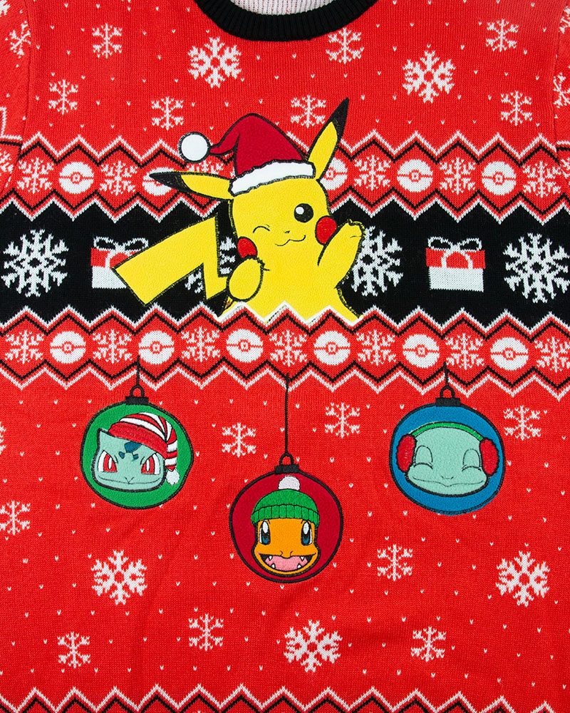 Official Pokemon Ugly Christmas Sweater