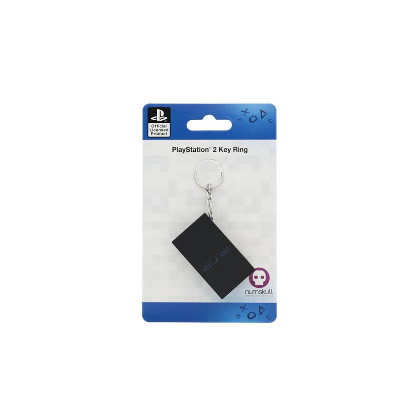 Official PlayStation 2 PS2 Console Keyring / Keychain