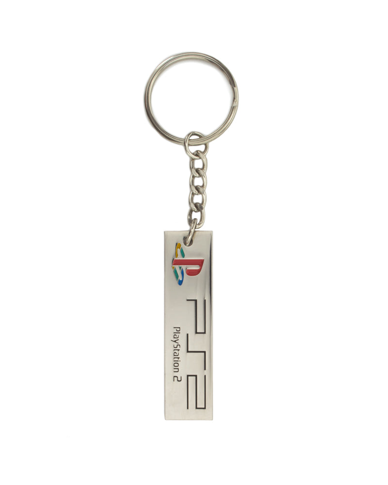 Official PlayStation 2 PS2 Logo Keychain / Keyring