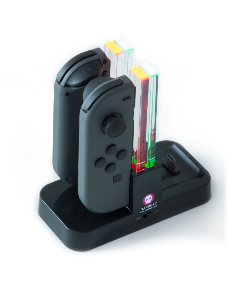 Numskull Nintendo Switch Joy-Con & Pro Controller 4 in 1 Charging Stand / Dock