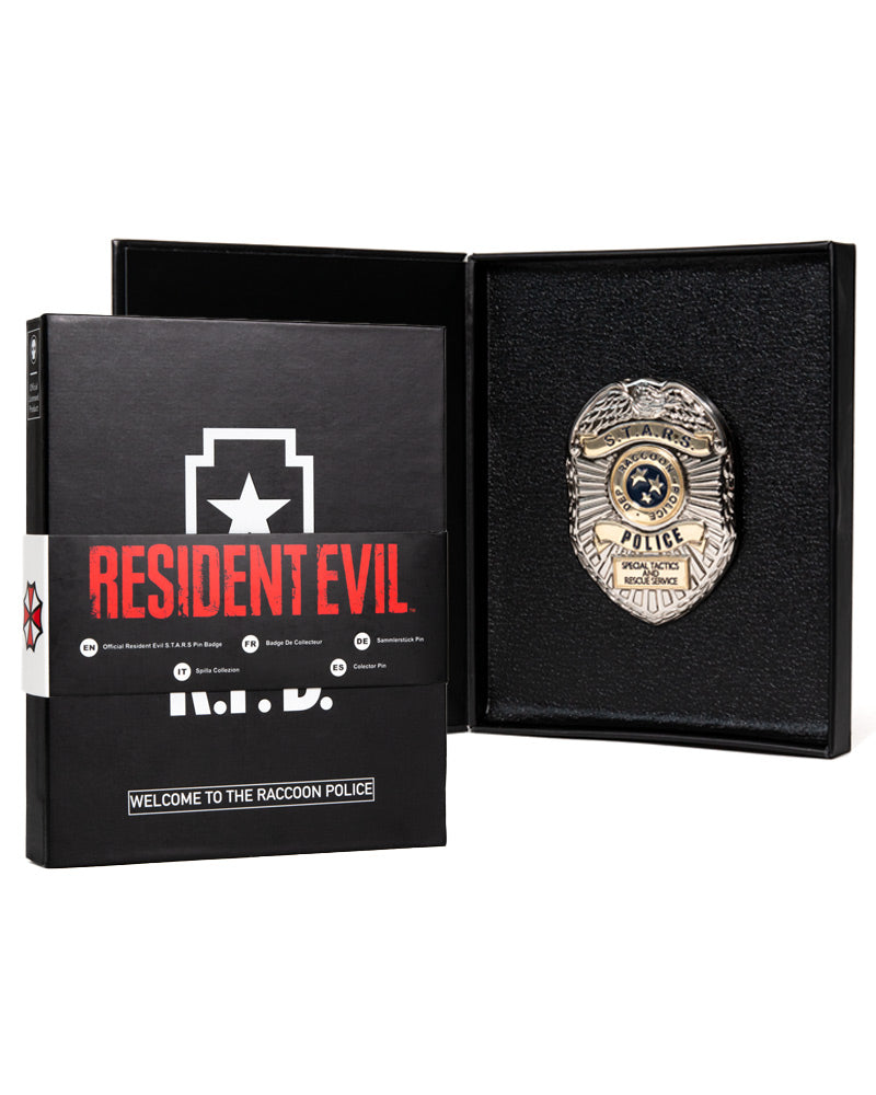 Official Resident Evil 2 S.T.A.R.S. Limited Edition Collector's Pin Badge