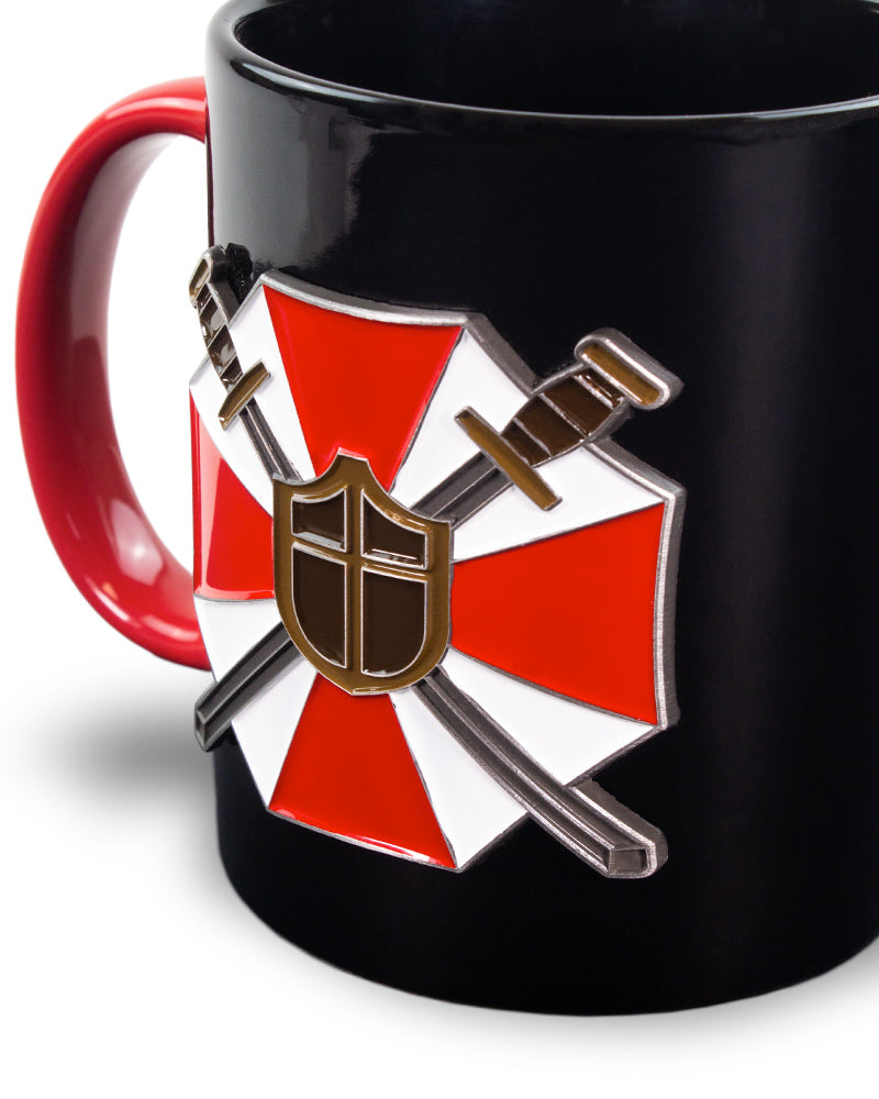 Official Resident Evil Metal Badge Mug