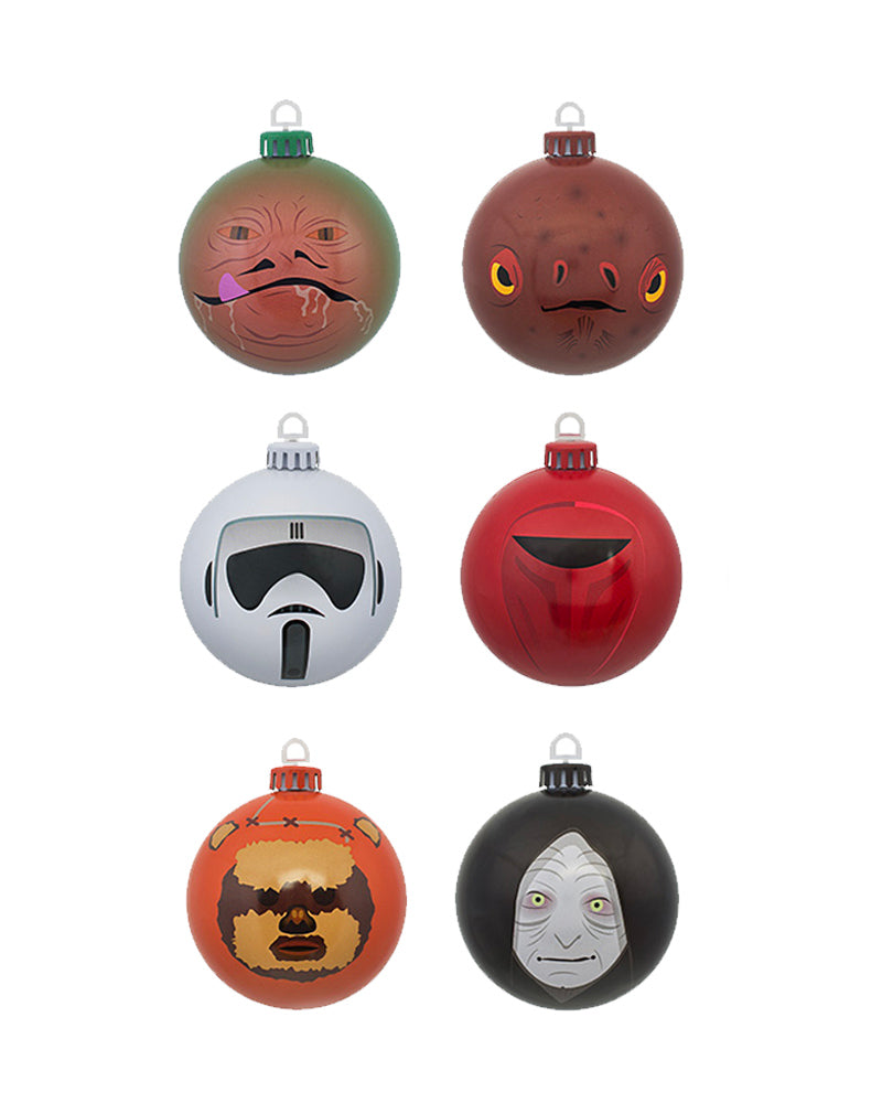 Official Star Wars Return of the Jedi Baubles / Christmas Tree Decorations