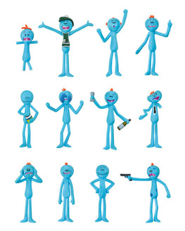 Official Rick and Morty Meeseeks Christmas Decorations / Ornaments (12 pack)