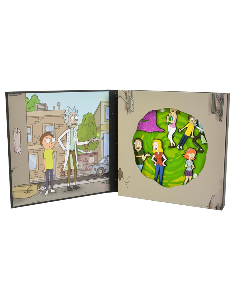Official Rick and Morty S01E01 'Pilot' Pin Badge Set
