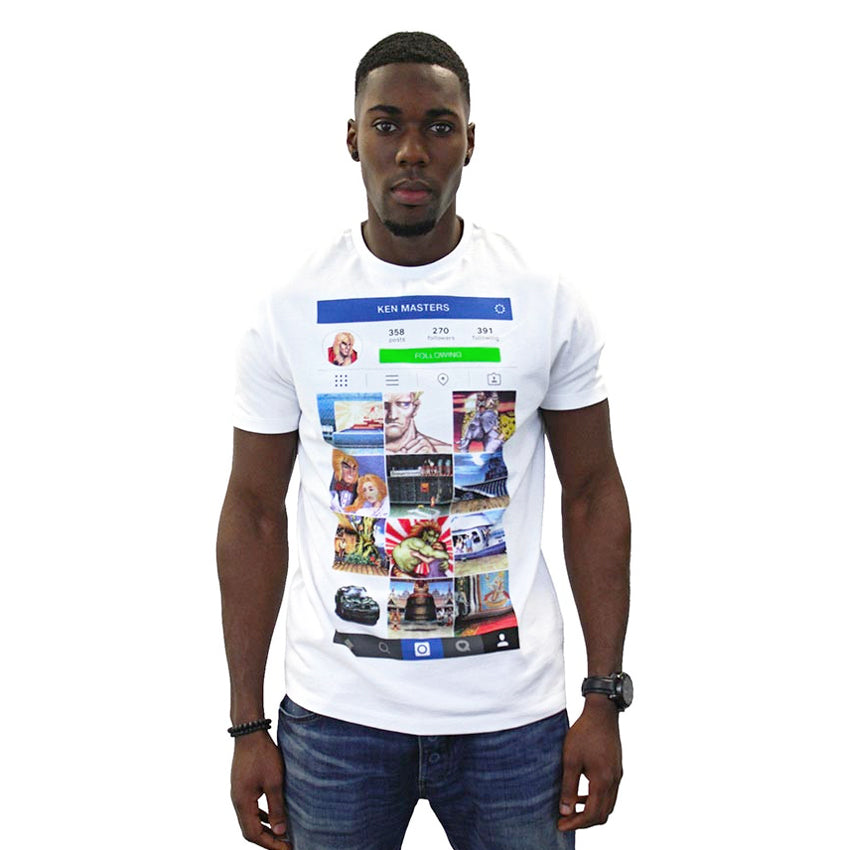 Official Street Fighter Kenstagram T-Shirt