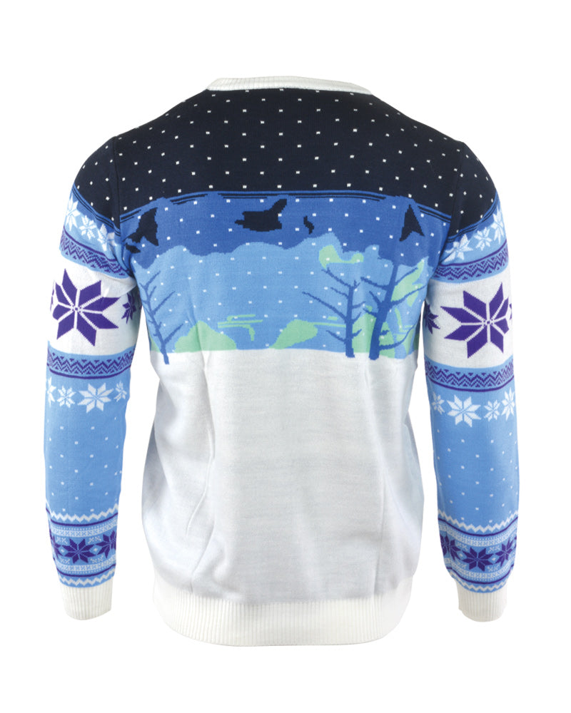 Hedgehog Christmas Jumper.Official Sonic The Hedgehog Skiing Christmas Jumper Ugly Sweater