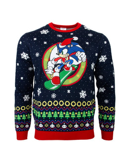 Official Sonic the Hedgehog Snowboard Christmas sweater / Sweater