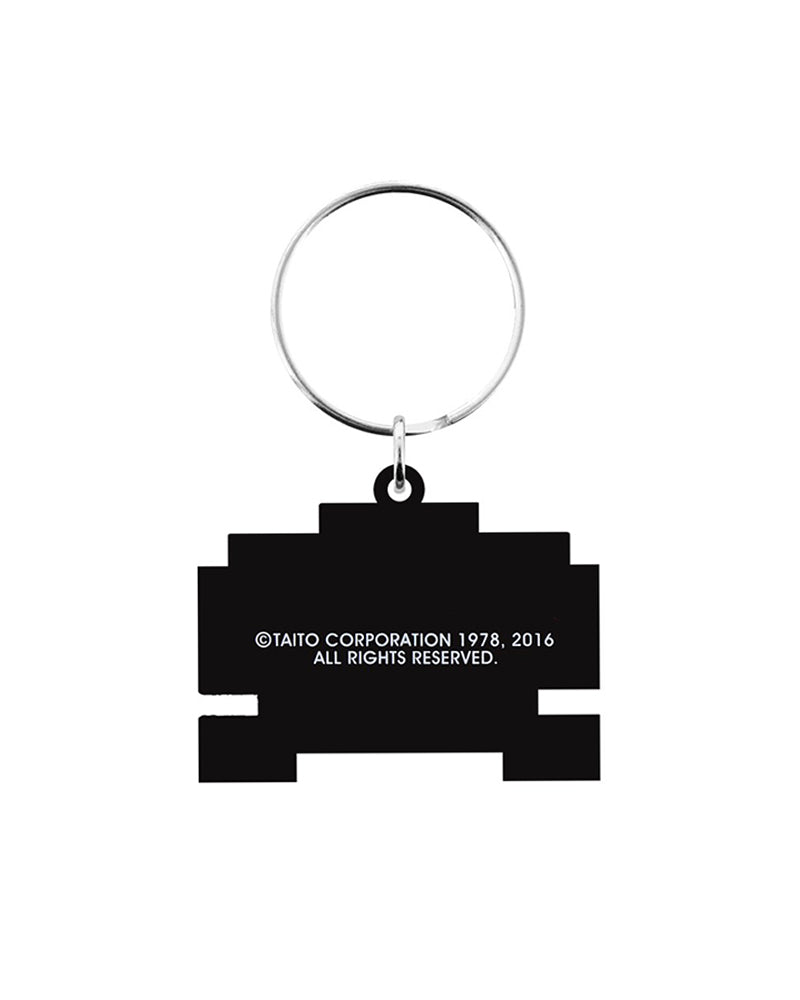 Official Space Invaders Alien Keyring / Keychain