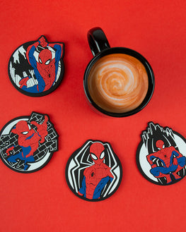 Official Marvel Spider-Man Coaster Set