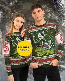 Official Star Wars Battle of Endor Ugly Christmas Sweater