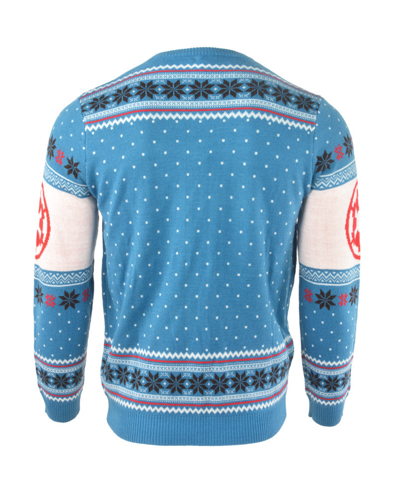 Official Star Wars AT-AT Battle of Hoth Christmas Jumper / Ugly Sweater