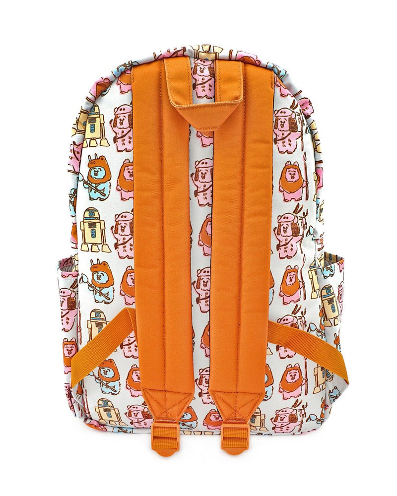 Loungefly Star Wars Pastel Ewok AOP Backpack