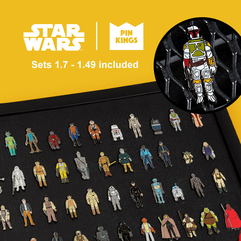 Pin Kings Star Wars Enamel Pin Badge Deluxe Bundle (Includes sets 1.7 - 1.49)