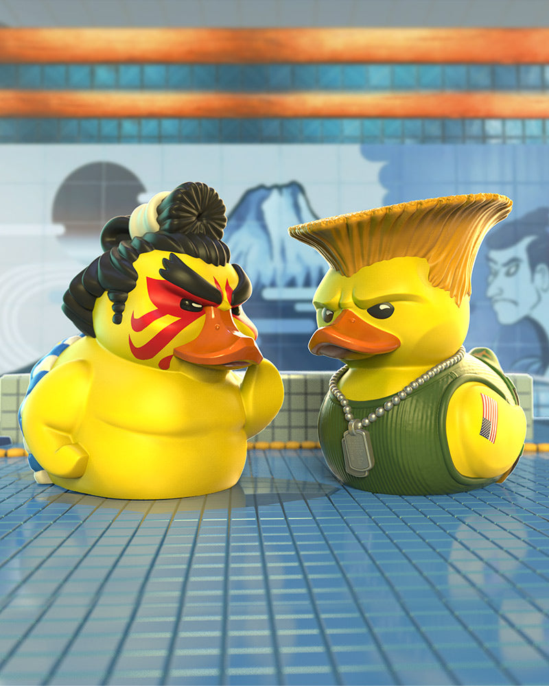 Street Fighter E-Honda TUBBZ Collectible Duck