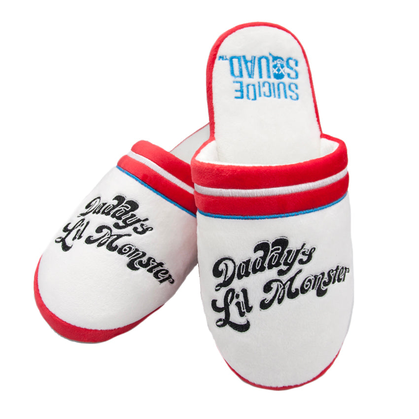 Official Suicide Squad Official 'Daddy's Lil Monster' Slippers