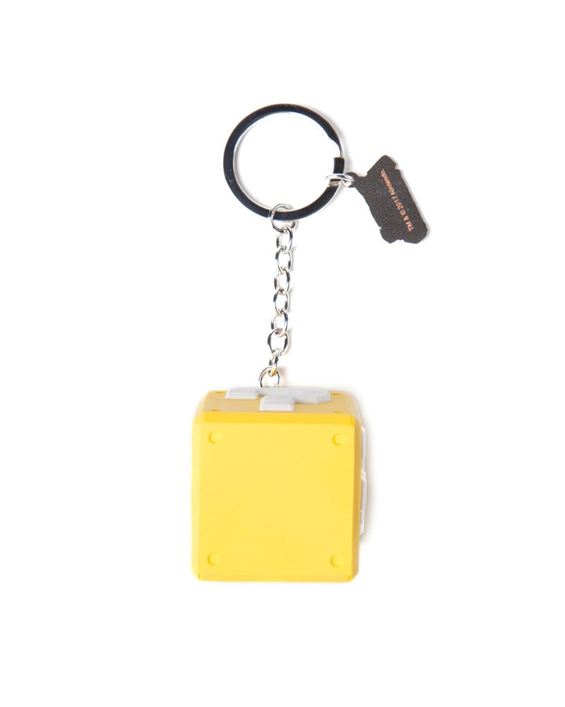Official Super Mario 3D Question Mark Box Keyring / Keychain