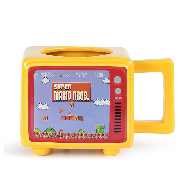 Official Nintendo: Super Mario Retro TV - Heat Change Mug