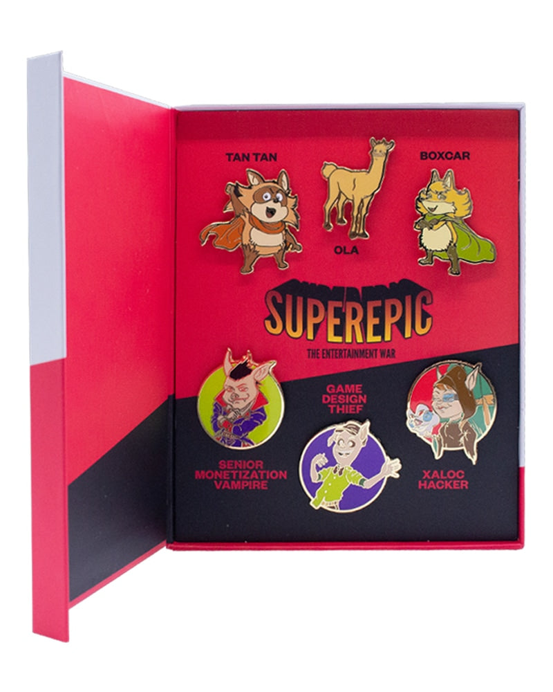 SuperEpic: The Entertainment War Badge Edition (Nintendo Switch)