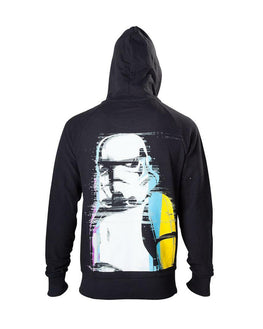 Official Star Wars Black Stormtrooper Hoodie
