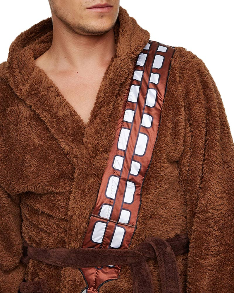 Official Star Wars Fleece Chewbacca Bathrobe