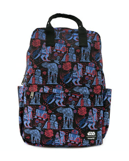 Loungefly Star Wars Empire Strikes Back 40th Anniversary AOP Backpack