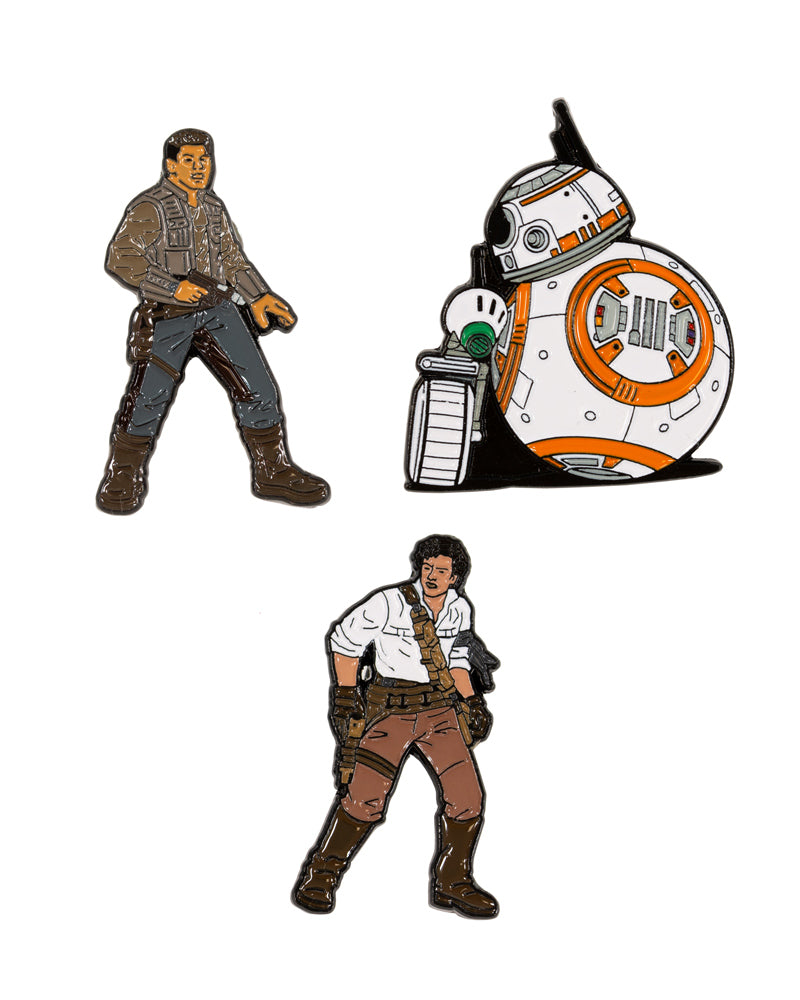 Official Star Wars The Rise of Skywalker - The Resistance Pin Badge Set