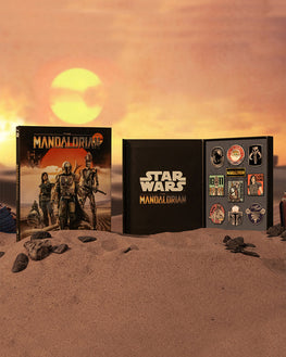 Official Star Wars The Mandalorian 10 Pin Badge Set