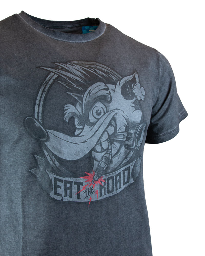 Official Crash Team Racing Nitro-Fueled Eat the Road T-Shirt