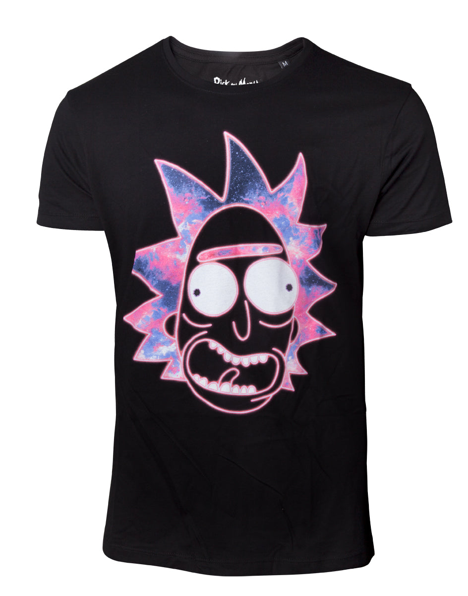 Official Rick and Morty Neon Rick T-Shirt