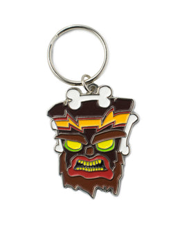 Official Crash Bandicoot Uka Uka Keyring / Keychain