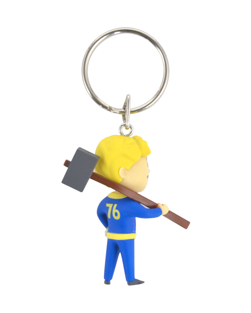 Official Fallout Vault Boy Melee Keyring / Keychain