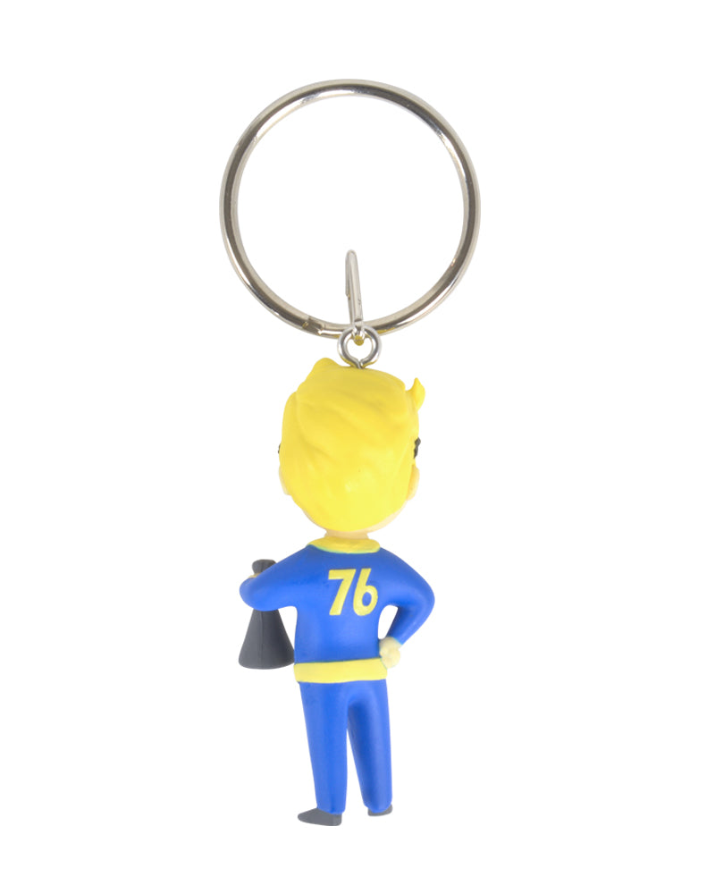 Official Fallout Vault Boy Science Keyring / Keychain
