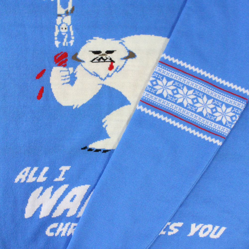 Official Star Wars Wampa Christmas Jumper / Ugly Sweater