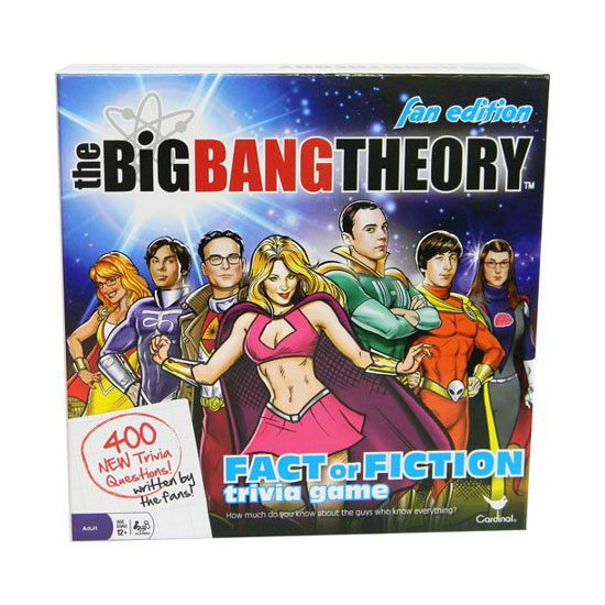 Official The Big Bang Theory Fact or Fiction Board Game - Fan Edition