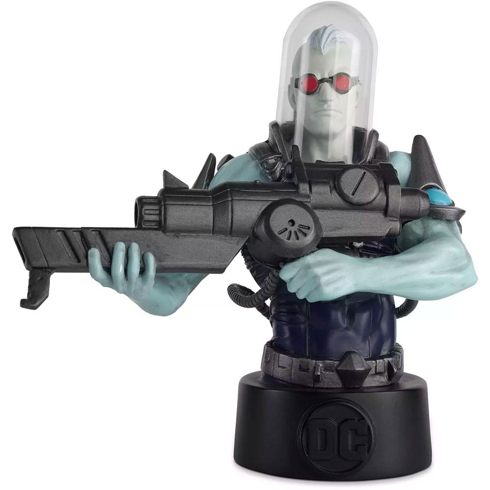 Official DC Comics Batman Universe Mr Freeze Bust / Figure #12 - 14cm