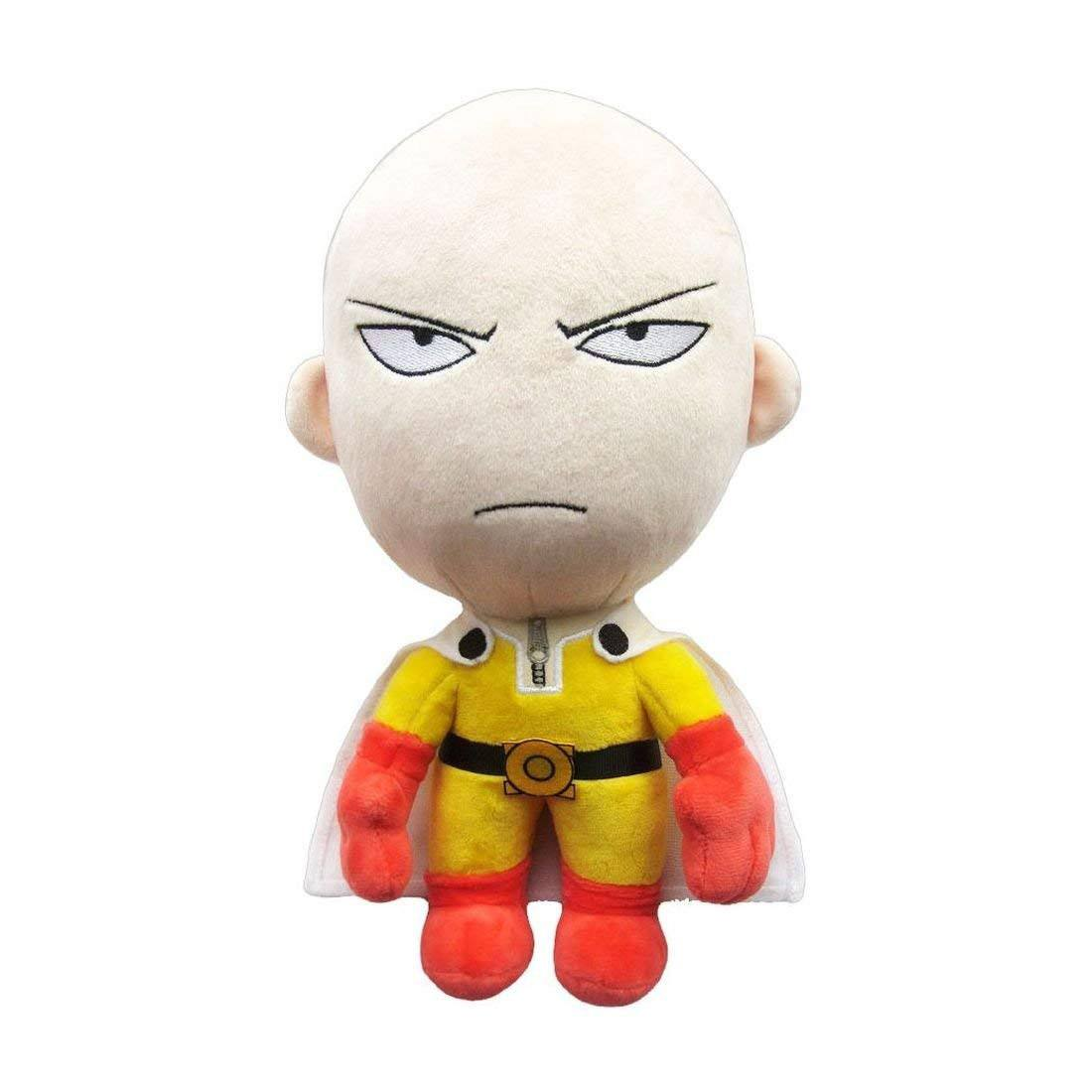 Official One-Punch Man Saitama Angry Plushie - 28 cm