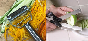 Best Ever Spiralizer / Veggie Cutter Combo