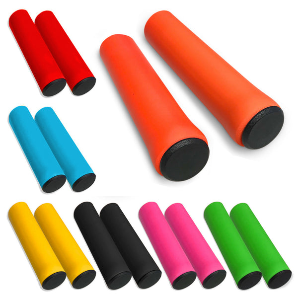 "Closed Cell Sponge Bike Handlebar Grips ¼"" Thick"