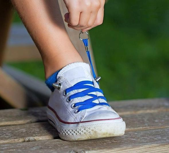 ONLY $5.99 90%OFF DISCOUNT - A Pair of Perfect One Hand No-tie Shoelaces(Factory Outlet)